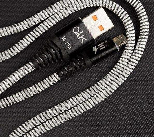 کابل تبدیل USB به microUSB او آک طول 1متر