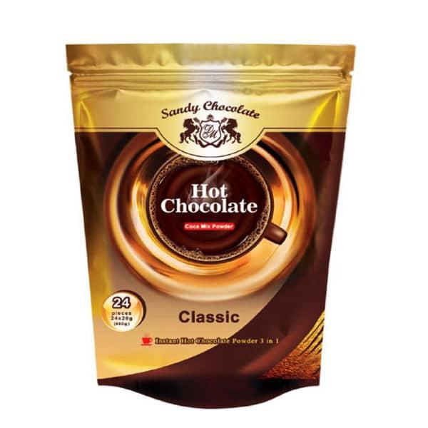 فروشگاه اینترنتی بُجـ شاپ هات چاکلت سندی - شکلات داغ - 24 عددی محصولات